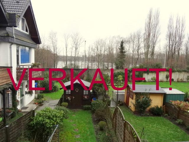 VERKAUFT! Schönes, ruhiges Wohnen in Hilden mit Blick auf den Langersee! Reiheneckhaus mit Garten & Tiefgarage