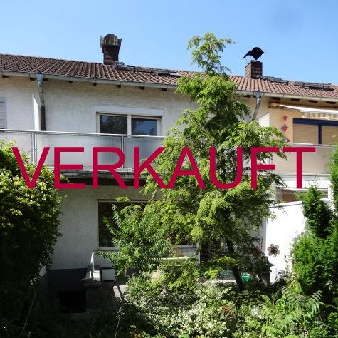 VERKAUFT!!! Schönes Reihenmittelhaus in Ingelheim-West mit Garten in Sonnenlage, sowie Garage u. Stellplatz