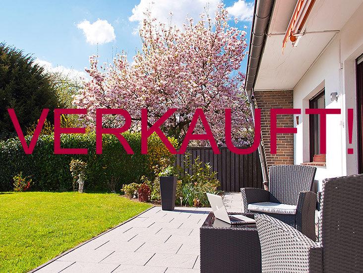 VERKAUFT! Schöne, barrierefreie Eigentumswohnung mit Garten für Jung und Alt mit Einfamilienhaus-Charme