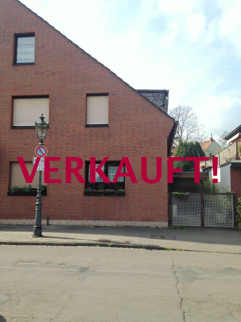 VERKAUFT! Schöne Doppelhaushälfte mit Garten, Terrasse, Balkon und Garage im begehrten Stadtteil Unterrath- Nähe Vogelsiedlung