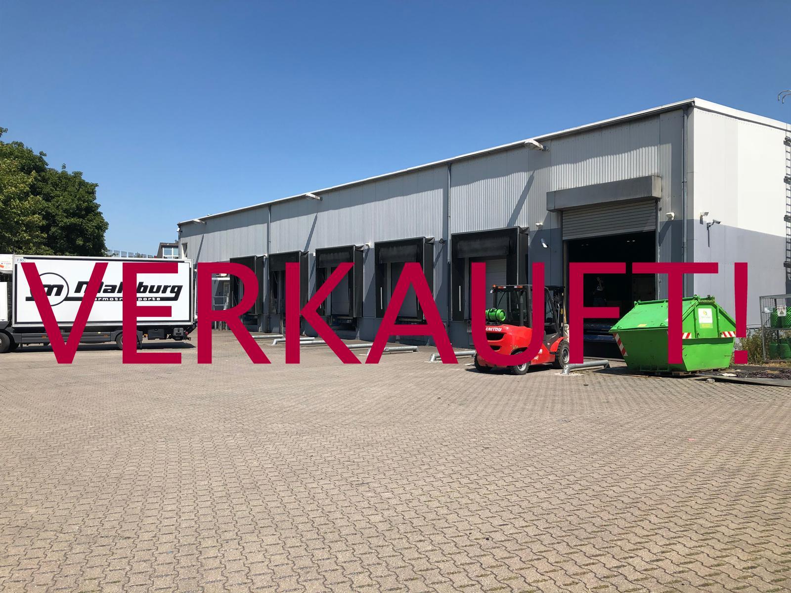 VERKAUFT! Düsseldorf-Flughafen großes Grundstück mit Gewerbeeinheiten