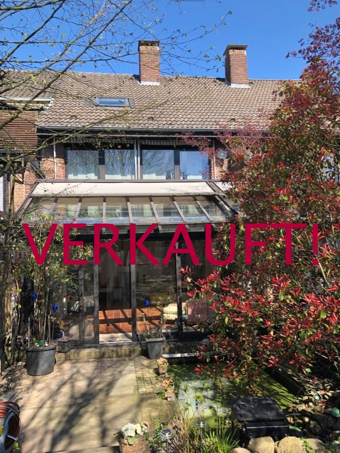 VERKAUFT! Attraktives Architektenhaus mit Garten u. Garage in begehrter Wohnlage von Krefeld- Inrath/Kliedbruch