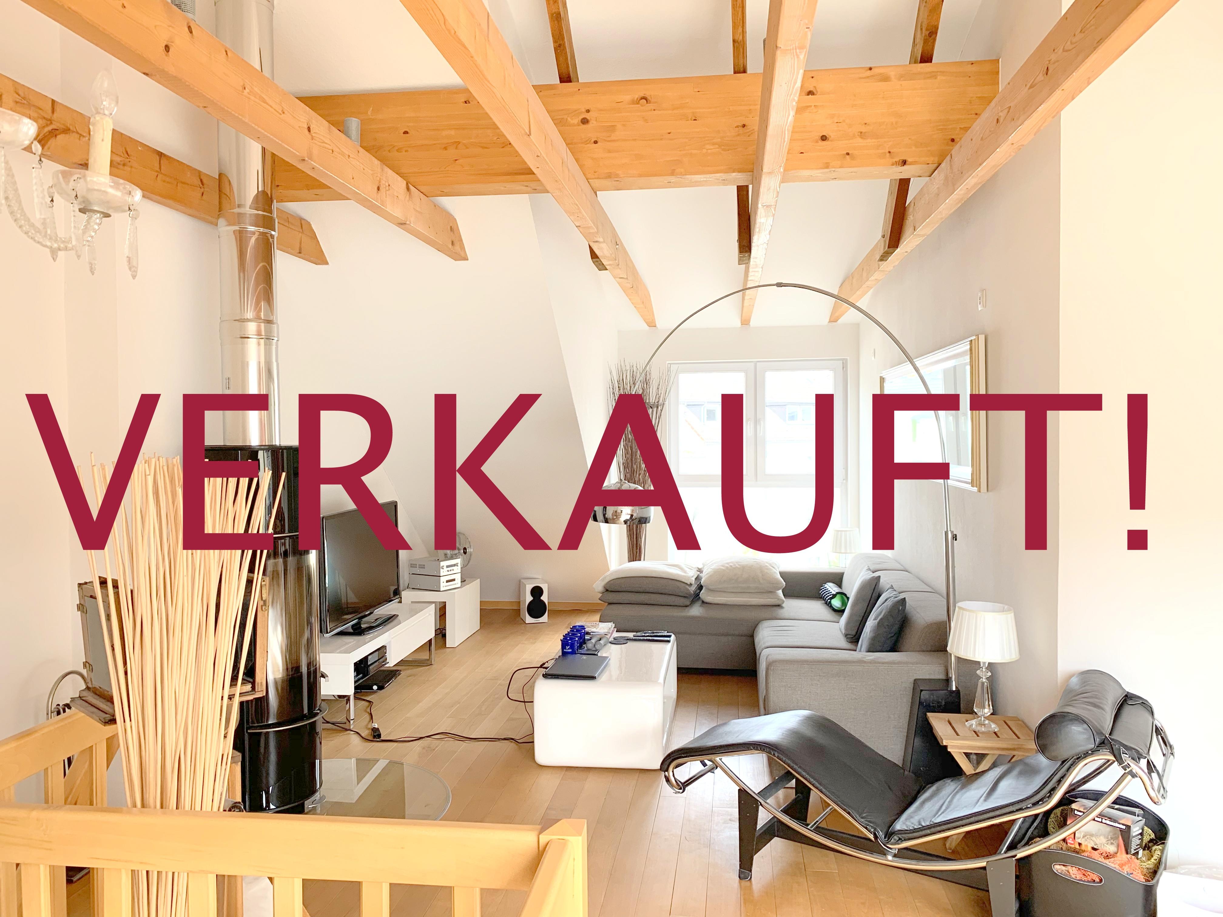 VERKAUFT! Exklusive sonnendurchflutete Maisonette-Wohnung mit Dachterrasse in Südlage und Einzelgarage