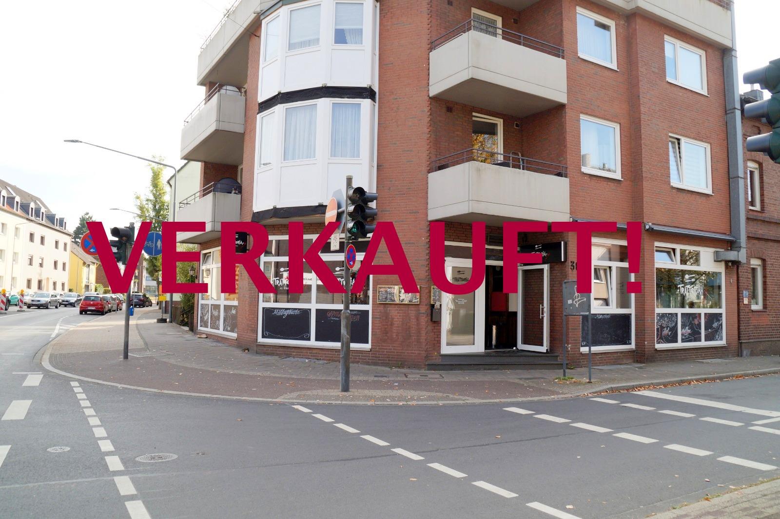 """VERKAUFT! Werbeträchtiges Eckladenlokal """"Pizzeria"""" mit Garage+Stellplatz für Eigennutzer oder Kapitalanleger"""