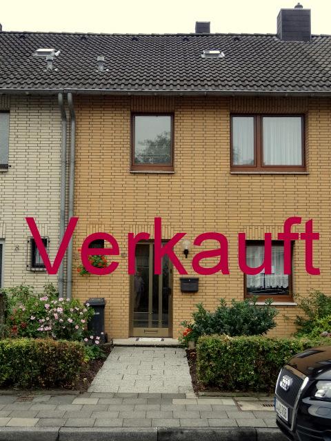 VERKAUFT!!! Schönes Reihenmittelhaus in Büderich mit Garten in Sonnenlage und Garage, ideal für eine kleine Familie geeignet!