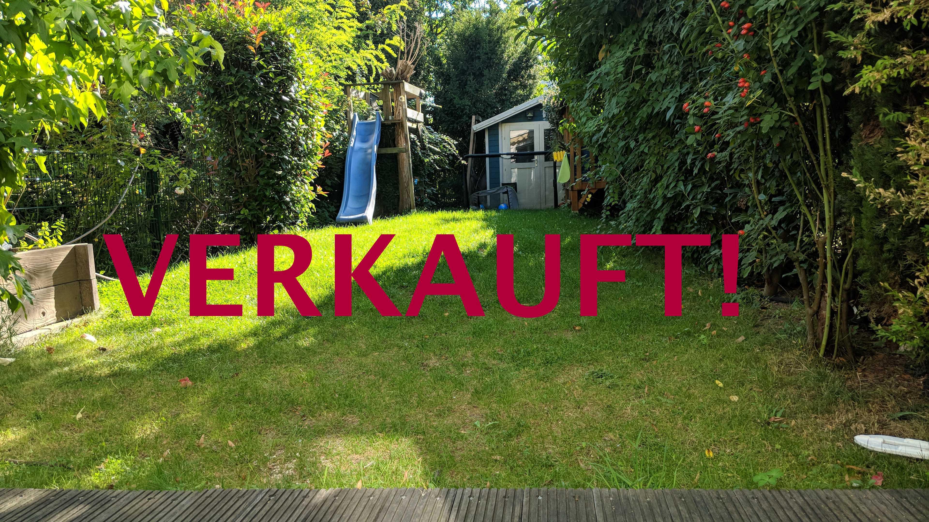 VERKAUFT! Schönes Reihenmittelhaus mit Garten und Carport im begehrten Stadtteil Golzheim
