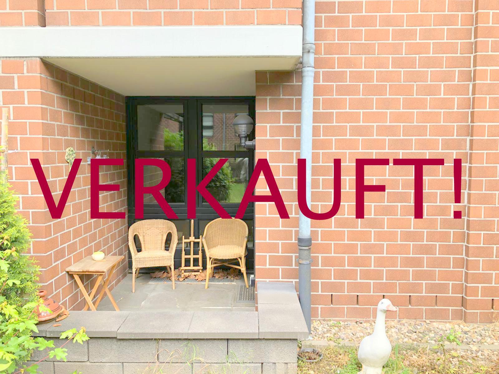 VERKAUFT! Komfortable Eigentumswohnung (Hochparterre) mit Loggia und Tiefgaragenstellplatz in Unterrath